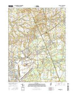 New Egypt New Jersey Current topographic map, 1:24000 scale, 7.5 X 7.5 Minute, Year 2016 from New Jersey Map Store