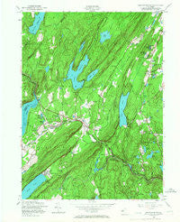Newfoundland New Jersey Historical topographic map, 1:24000 scale, 7.5 X 7.5 Minute, Year 1954