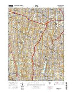Park Ridge New Jersey Current topographic map, 1:24000 scale, 7.5 X 7.5 Minute, Year 2016 from New Jersey Map Store