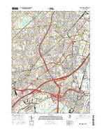 Perth Amboy New Jersey Current topographic map, 1:24000 scale, 7.5 X 7.5 Minute, Year 2016 from New Jersey Map Store