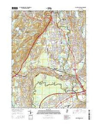 Pompton Plains New Jersey Current topographic map, 1:24000 scale, 7.5 X 7.5 Minute, Year 2016