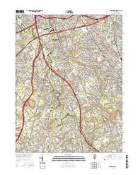 Runnemede New Jersey Current topographic map, 1:24000 scale, 7.5 X 7.5 Minute, Year 2016