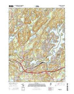 Stanhope New Jersey Current topographic map, 1:24000 scale, 7.5 X 7.5 Minute, Year 2016 from New Jersey Map Store