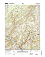 Stockton New Jersey Current topographic map, 1:24000 scale, 7.5 X 7.5 Minute, Year 2016 from New Jersey Map Store