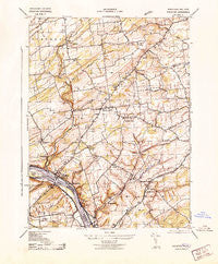 Stockton New Jersey Historical topographic map, 1:31680 scale, 7.5 X 7.5 Minute, Year 1943