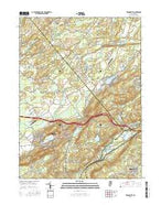 Tranquility New Jersey Current topographic map, 1:24000 scale, 7.5 X 7.5 Minute, Year 2016 from New Jersey Map Store