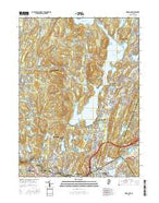 Wanaque New Jersey Current topographic map, 1:24000 scale, 7.5 X 7.5 Minute, Year 2016 from New Jersey Map Store