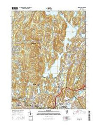 Wanaque New Jersey Current topographic map, 1:24000 scale, 7.5 X 7.5 Minute, Year 2016