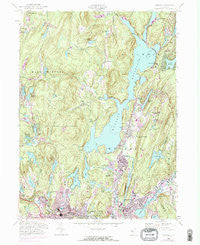 Wanaque New Jersey Historical topographic map, 1:24000 scale, 7.5 X 7.5 Minute, Year 1954
