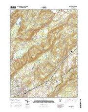 Washington New Jersey Current topographic map, 1:24000 scale, 7.5 X 7.5 Minute, Year 2016 from New Jersey Maps Store