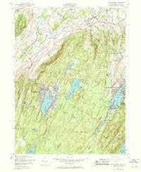 Wawayanda New Jersey Historical topographic map, 1:24000 scale, 7.5 X 7.5 Minute, Year 1954