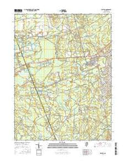 Whiting New Jersey Current topographic map, 1:24000 scale, 7.5 X 7.5 Minute, Year 2016 from New Jersey Maps Store