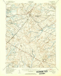 Whiting New Jersey Historical topographic map, 1:62500 scale, 15 X 15 Minute, Year 1949