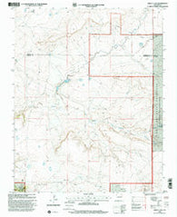 Abbott Lake New Mexico Historical topographic map, 1:24000 scale, 7.5 X 7.5 Minute, Year 1998