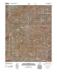 Abbott Lake New Mexico Historical topographic map, 1:24000 scale, 7.5 X 7.5 Minute, Year 2011