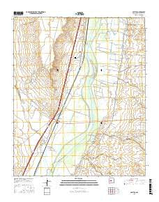 Abeytas New Mexico Current topographic map, 1:24000 scale, 7.5 X 7.5 Minute, Year 2017