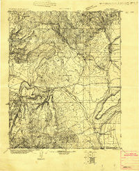 Abiquiu New Mexico Historical topographic map, 1:125000 scale, 30 X 30 Minute, Year 1918