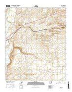 Acme New Mexico Current topographic map, 1:24000 scale, 7.5 X 7.5 Minute, Year 2017 from New Mexico Map Store