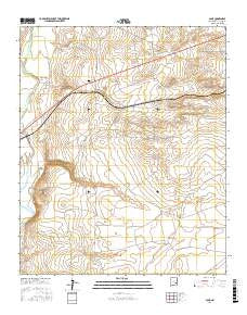 Acme New Mexico Current topographic map, 1:24000 scale, 7.5 X 7.5 Minute, Year 2017