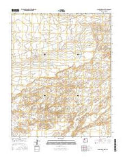 Alamo Mesa West New Mexico Current topographic map, 1:24000 scale, 7.5 X 7.5 Minute, Year 2017 from New Mexico Maps Store