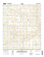 Andrews Place New Mexico Current topographic map, 1:24000 scale, 7.5 X 7.5 Minute, Year 2017 from New Mexico Map Store