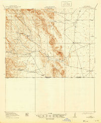 Antelope Wells New Mexico Historical topographic map, 1:62500 scale, 15 X 15 Minute, Year 1919