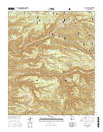 Baily Points New Mexico Current topographic map, 1:24000 scale, 7.5 X 7.5 Minute, Year 2017 from New Mexico Map Store