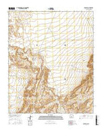 Becker SW New Mexico Current topographic map, 1:24000 scale, 7.5 X 7.5 Minute, Year 2017 from New Mexico Map Store