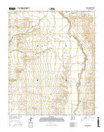 Belen NW New Mexico Current topographic map, 1:24000 scale, 7.5 X 7.5 Minute, Year 2017 from New Mexico Map Store