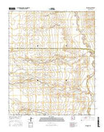 Belen SW New Mexico Current topographic map, 1:24000 scale, 7.5 X 7.5 Minute, Year 2017 from New Mexico Map Store