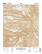 Bell Mountain New Mexico Current topographic map, 1:24000 scale, 7.5 X 7.5 Minute, Year 2017 from New Mexico Map Store