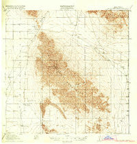 Big Hatchet Peak New Mexico Historical topographic map, 1:62500 scale, 15 X 15 Minute, Year 1918