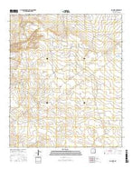 Big Sinks New Mexico Current topographic map, 1:24000 scale, 7.5 X 7.5 Minute, Year 2017 from New Mexico Map Store