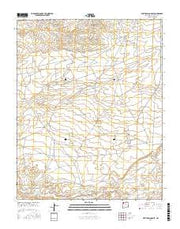 Bisti Trading Post New Mexico Current topographic map, 1:24000 scale, 7.5 X 7.5 Minute, Year 2017 from New Mexico Maps Store