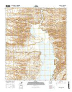 Black Bluffs New Mexico Current topographic map, 1:24000 scale, 7.5 X 7.5 Minute, Year 2017 from New Mexico Map Store