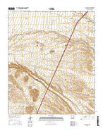 Black Hill New Mexico Current topographic map, 1:24000 scale, 7.5 X 7.5 Minute, Year 2017 from New Mexico Map Store