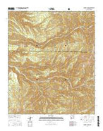 Bonner Canyon New Mexico Current topographic map, 1:24000 scale, 7.5 X 7.5 Minute, Year 2017 from New Mexico Map Store
