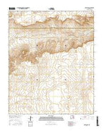 Borica SW New Mexico Current topographic map, 1:24000 scale, 7.5 X 7.5 Minute, Year 2017 from New Mexico Map Store