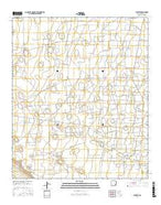 Buckeye New Mexico Current topographic map, 1:24000 scale, 7.5 X 7.5 Minute, Year 2017 from New Mexico Map Store