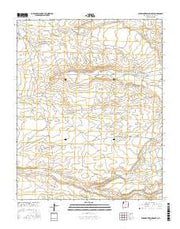 Burnham Trading Post New Mexico Current topographic map, 1:24000 scale, 7.5 X 7.5 Minute, Year 2017 from New Mexico Maps Store