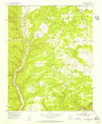 Burnt Mesa New Mexico Historical topographic map, 1:24000 scale, 7.5 X 7.5 Minute, Year 1954