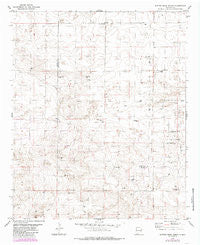 Button Mesa North New Mexico Historical topographic map, 1:24000 scale, 7.5 X 7.5 Minute, Year 1978