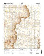 Candy Mesa New Mexico Current topographic map, 1:24000 scale, 7.5 X 7.5 Minute, Year 2017 from New Mexico Map Store