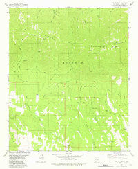 Capitan Peak New Mexico Historical topographic map, 1:24000 scale, 7.5 X 7.5 Minute, Year 1981