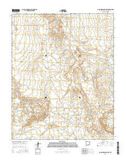 Carson Trading Post New Mexico Current topographic map, 1:24000 scale, 7.5 X 7.5 Minute, Year 2017 from New Mexico Maps Store