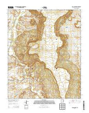 Casa Salazar New Mexico Current topographic map, 1:24000 scale, 7.5 X 7.5 Minute, Year 2013 from New Mexico Maps Store