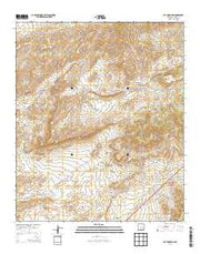 Cat Mountain New Mexico Current topographic map, 1:24000 scale, 7.5 X 7.5 Minute, Year 2013 from New Mexico Maps Store