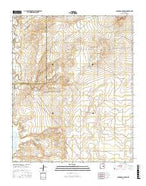 Colorado Canyon New Mexico Current topographic map, 1:24000 scale, 7.5 X 7.5 Minute, Year 2017 from New Mexico Map Store