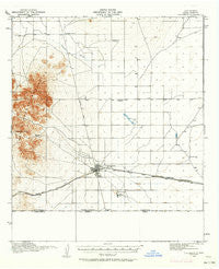 Columbus New Mexico Historical topographic map, 1:62500 scale, 15 X 15 Minute, Year 1917
