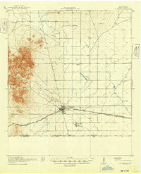 Columbus New Mexico Historical topographic map, 1:62500 scale, 15 X 15 Minute, Year 1920